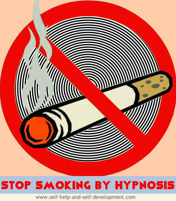 Image for the title 'Stop Smoking by Hypnosis'.