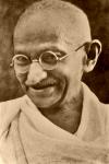 Mahatma Gandhi on taking action.