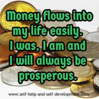 Inspiration for prosperity.
