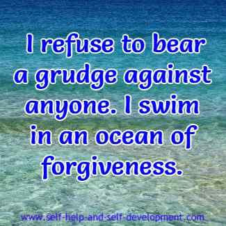 Inspiration for forgiveness.