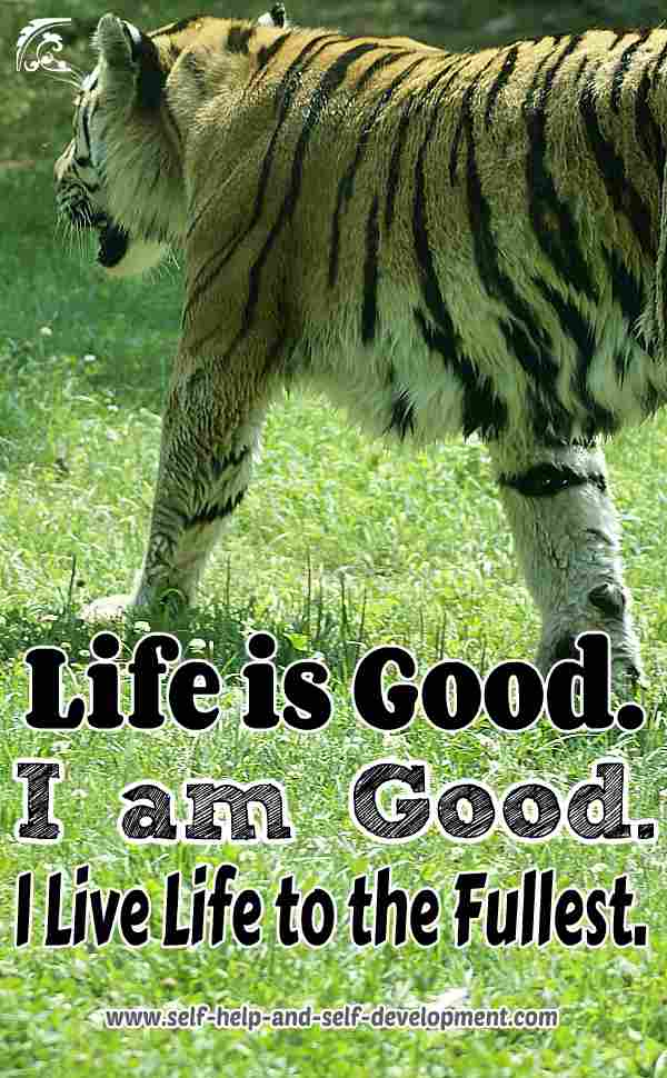 Self-talk for a good life.