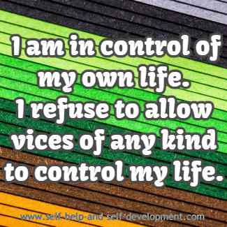 Inspiration for controlling your own life.