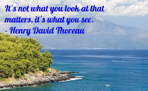 A belief quote by Henry David Thoreau.