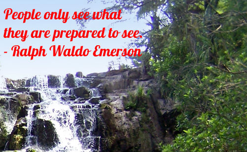 A belief quote by Ralph Waldo Emerson.