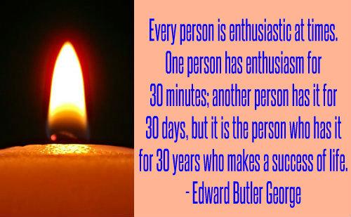 Edward Butler George on Enthusiasm.