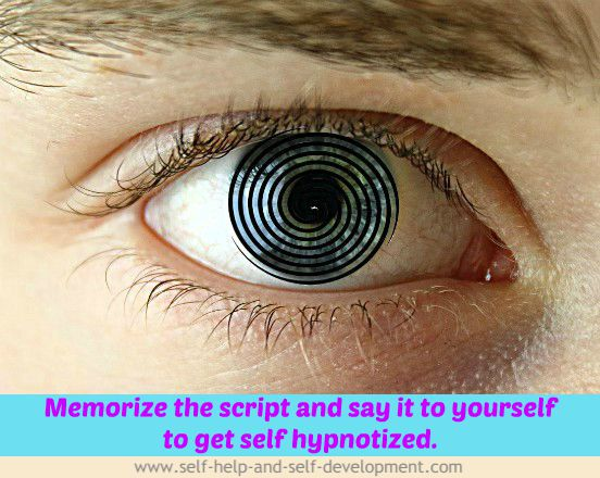 Using Self Hypnosis Script to Hypnotize Yourself