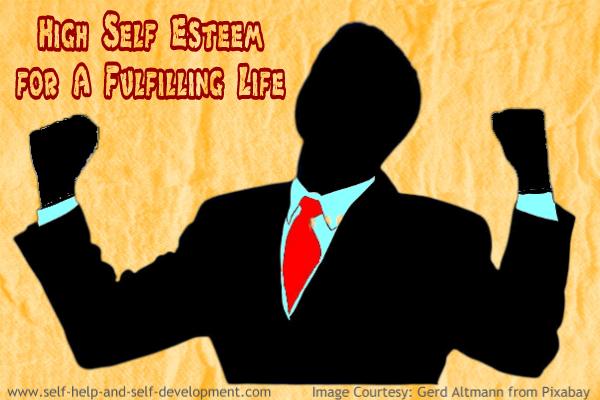 Image showing a man having high self esteem.