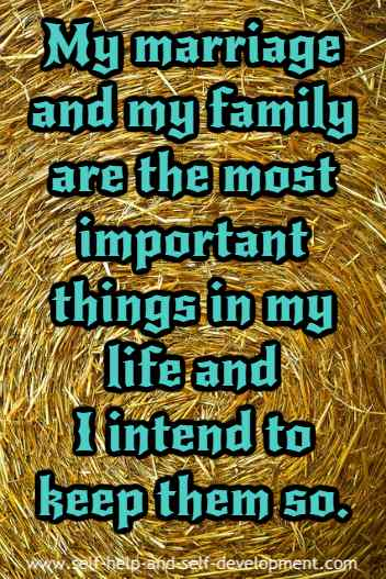 Inspiration for importance of marriage and family life.