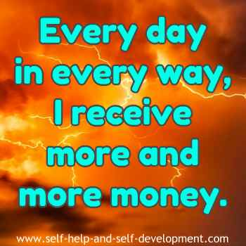 Inspiration for daily increase of money.