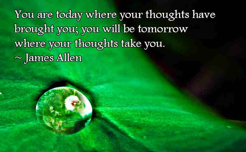 Quotation by James Allen.