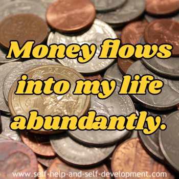Positive inspiration for money.