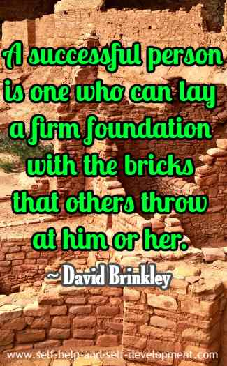 Quotation by David Brinkley.