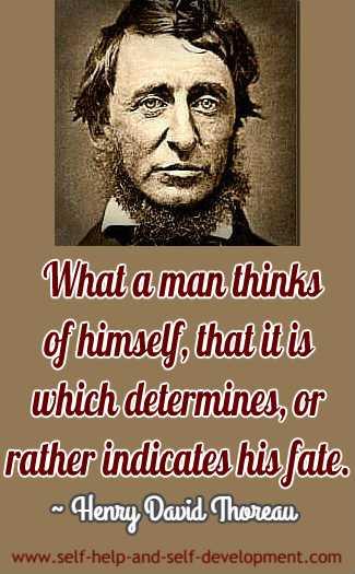 Quotation by Henry David Thoreau.