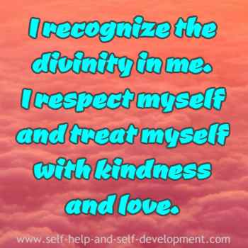 Inspiration for self respect and self love.