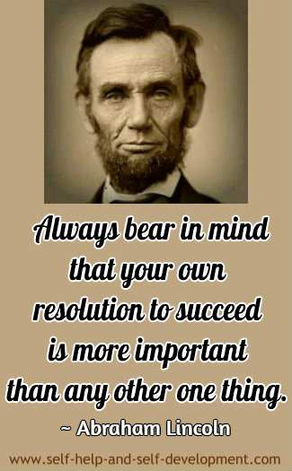 Quotation by Abraham Lincoln.