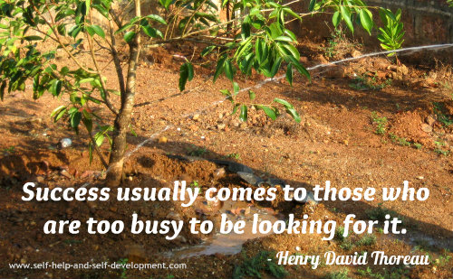 Success Quote: Success usually comes...