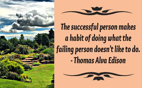 Action Quote by Thomas Alva Edison.