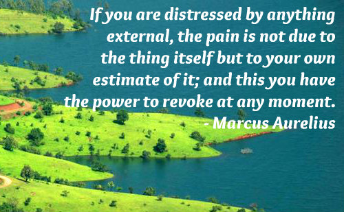 A belief quote by Marcus Aurelius.
