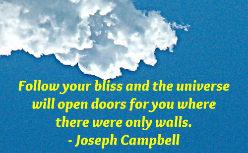 A belief quote by Joseph Campbell.