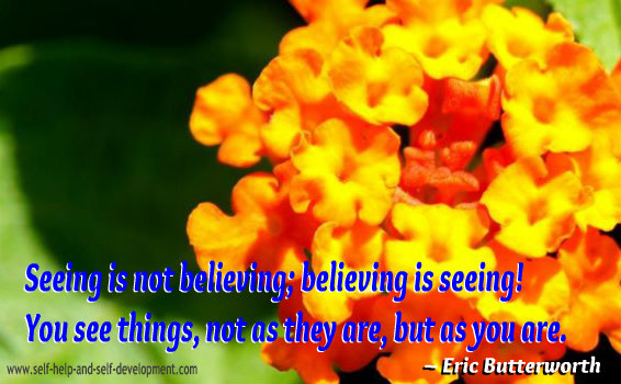 Belief Quote - Eric Butterworth