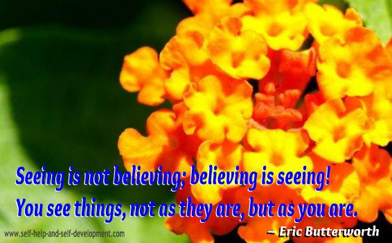 Belief Quote - Eric Butterworth