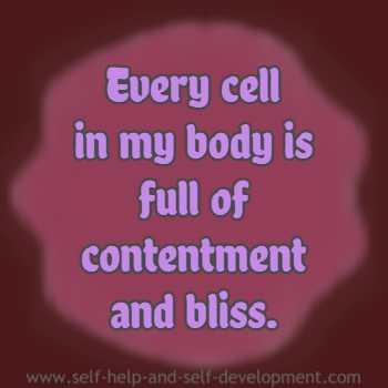 Inspiration for bodily bliss.