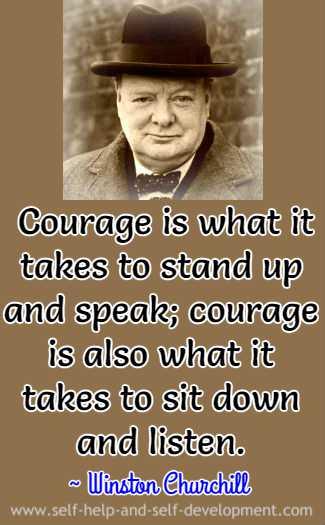 Quotation by Winston Churchill.