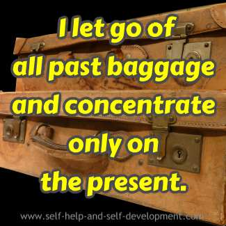 Daily affirmation for living in the present.