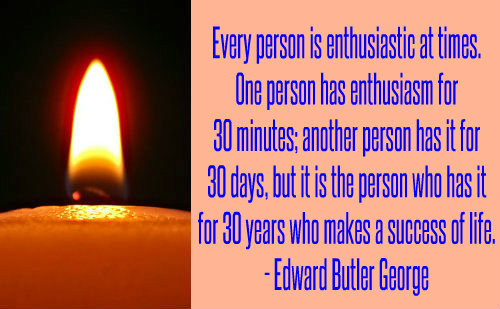 Edward Butler George on Enthusiasm.