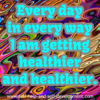 Self talk for daily health.