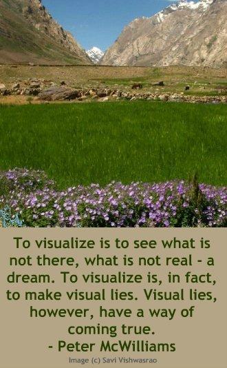 A wonderful explanation of visualization.