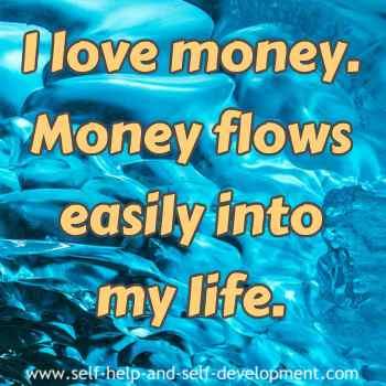Inspiration for easy flow of money.