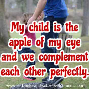Self talk for making your child the dearest thing in your life.