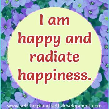 Positive inspiration for happiness.