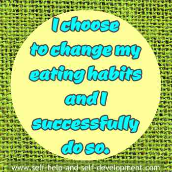 Inspiration to change eating habits.