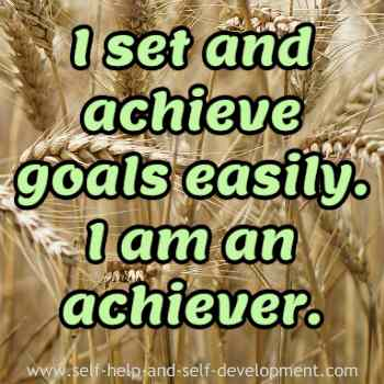 Inspiration for goal setting and achieving goals.