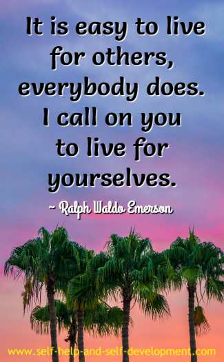 Quotation by Ralph Waldo Emerson.