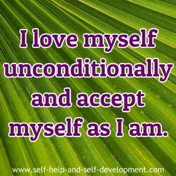 Inspiration for unconditional self love and self acceptance.