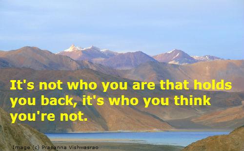 A nice quotation on self esteem.