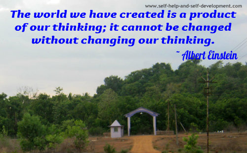 Quotation by Albert Einstein.