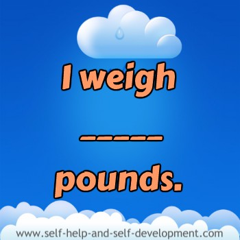 Inspiration for current ideal weight.